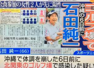 ゴルフ コロナ 石田 場 純一