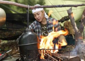 ヒロシ年収キャンプ動画