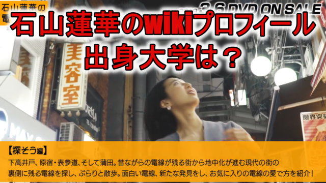石山蓮華wiki大学と電線