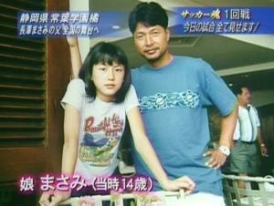 長澤まさみの父親サッカー監督
