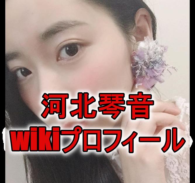 河北琴音のwikiプロフィール