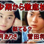 【比較画像】観月ありさの若い頃は菅田将暉に似てる?スタイルも抜群で劣化なし!