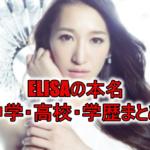 "<span class=""title"">アニソン歌手ELISAの本名やwiki!学歴(中学・高校・大学)も調査!</span>"