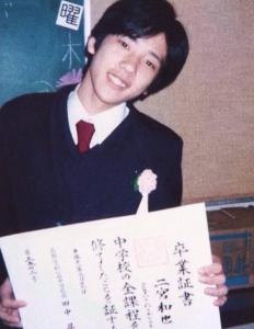 竹内結子子供太郎の中学校