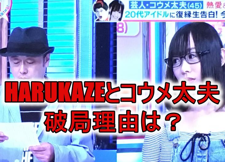 HARUKAZE元カレ芸人コウメ太夫