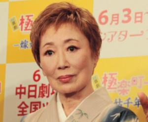 香川照之の母親の浜木綿子現在