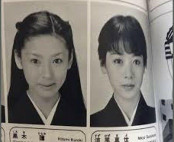 黒木瞳の若い頃可愛い画像