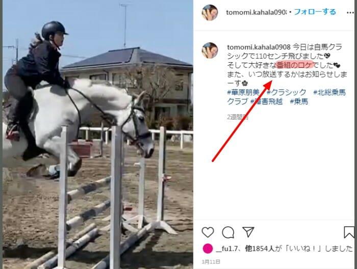 華原朋美太り過ぎ乗馬画像