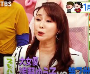 浅野ゆう子の首のシワ手術