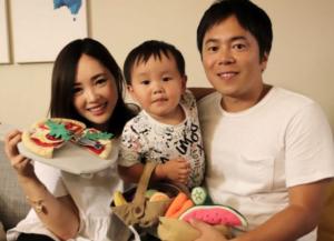 小川慶太の嫁妻と子供の画像