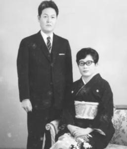 橋田壽賀子の夫と子供の画像