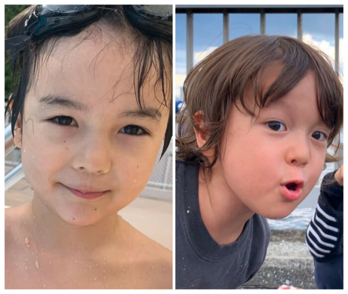 小沢健二PORIN妻と子供